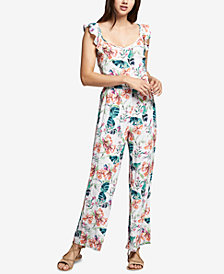 Sanctuary Freya Printed Flounce Jumpsuit