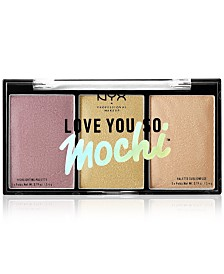 NYX Professional Makeup Love You So Mochi Highlighting Palette