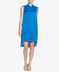Catherine Catherine Malandrino High-Low Shirtdress