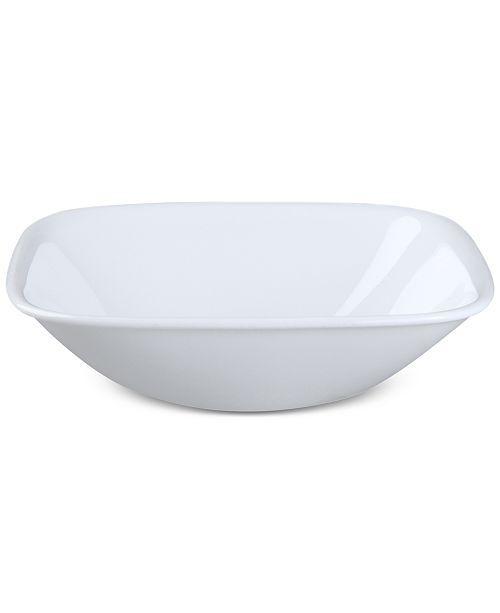 Corelle Square Round Pure White Bowl