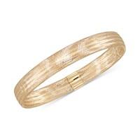 Italian Gold 14k Stretch Bangle Bracelet