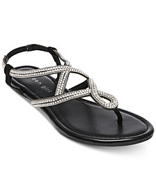 Madden Girl Trudi Embellished Thong Sandals