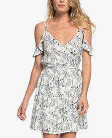 Roxy Juniors' Currently Drifting Printed Wrap Dress
