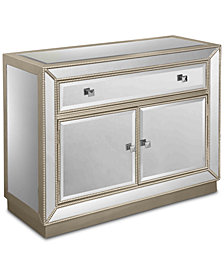 Estaline Mirrored Cabinet, Quick Ship