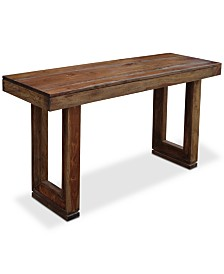 Brownstone Console Table, Quick Ship