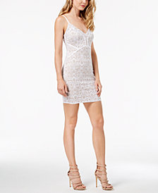 GUESS Lush Lace Bodycon Dress