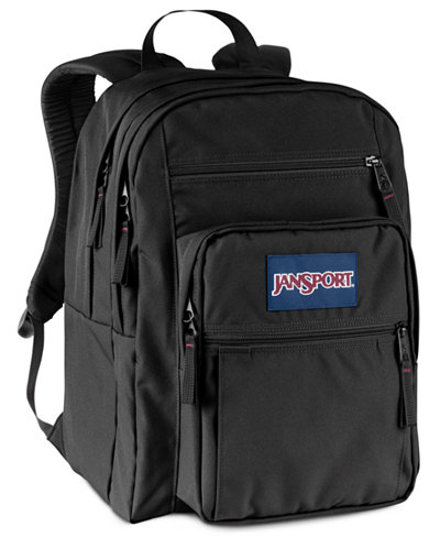 Jansport Big Student Backpack in Black - Bags & Backpacks - Men ...