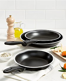 "Tools of the Trade 8"", 9"" & 11"" Fry Pan Set, Created for Macy's"