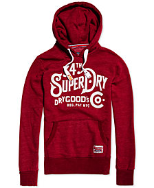 Superdry Men's NYC Goods Graphic-Print Hoodie