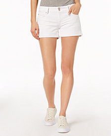 Hudson Jeans Croxley Cuffed Denim Shorts