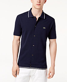 Lacoste Men's 85th Anniversary Limited Edition Button-Front Polo
