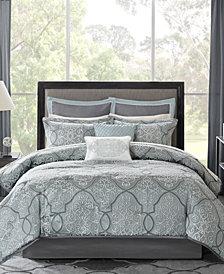 Madison Park Lavine 12-Pc. California King Comforter Set