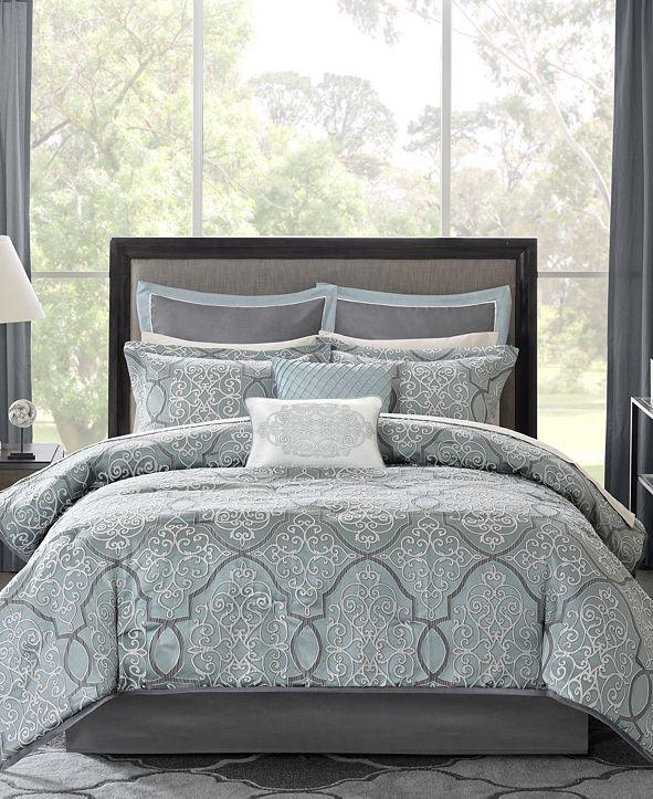 Madison Park Lavine 12-Pc. Queen Comforter Set