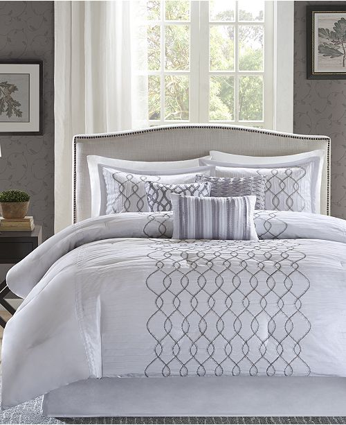 Madison Park Iris 7-Pc. King Comforter Set
