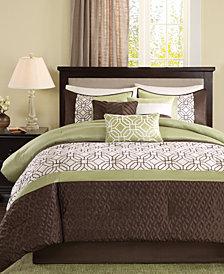 Madison Park Briggs 7-Pc. Queen Comforter Set