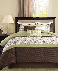 Madison Park Briggs 7-Pc. California King Comforter Set