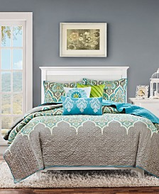 Madison Park Nisha 6-Pc. Full/Queen Coverlet Set