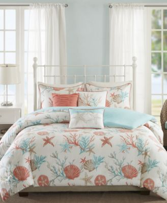 Pebble Beach 6-Pc. Full/Queen Duvet Cover Set