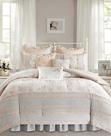 Madison Park Serendipity Cotton 7-Pc. Twin/Twin XL Comforter Set