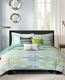 Madison Park Sonali 6-Pc. Coverlet Sets