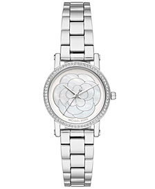 Michael Kors Women's Petite Norie Stainless Steel Bracelet Watch 28mm