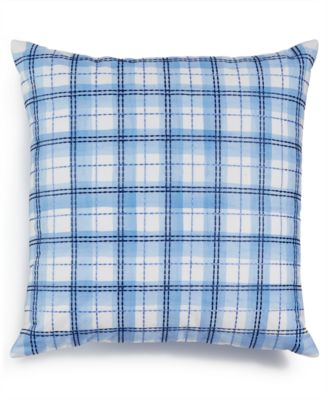 """Embroidered 18"""" x 18"""" Decorative Pillow, Only at Macy's"""