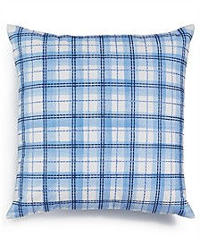 "Embroidered 18"" x 18"" Decorative Pillow, Only at Macy's"