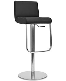 Adon Swivel Bar Stool, Quick Ship