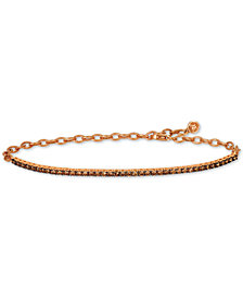 Le Vian Chocolatier® Diamond Adjustable Tennis Bracelet (1-1/4 ct. t.w.) in 14k Gold