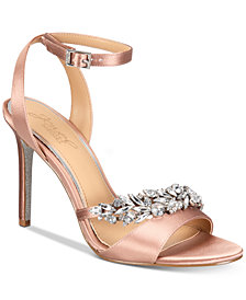 Jewel Badgley Mischka Merida Evening Sandals