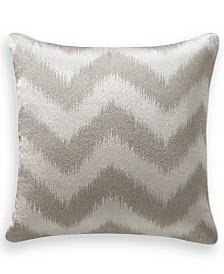"""Hotel Collection Interlattice Chevron 18"""" Square Decorative Pillow, Created for Macy's"""