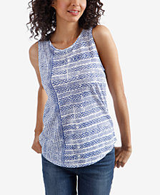 Lucky Brand Cotton Printed Tank Top