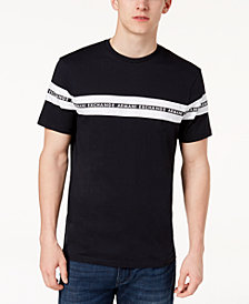 A|X Armani Exchange Men's Taped Logo T-Shirt, Created For Macy's