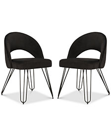 Lacer Side Chair (Set Of 2), Quick Ship