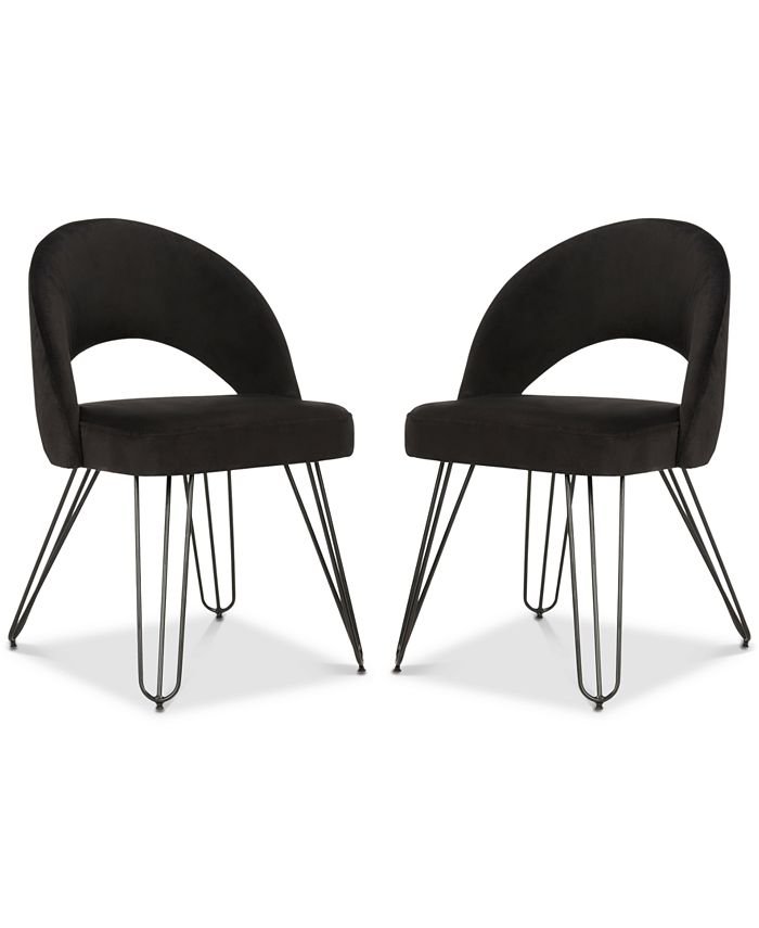 Safavieh - Lacer Side Chair (Set Of 2), Quick Ship