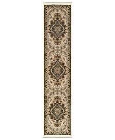 "Oriental Weavers Masterpiece Cav Ivory 2'3"" x 10' Runner"