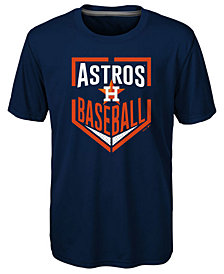 Outerstuff Houston Astros Run Scored T-Shirt, Little Boys (4-7)