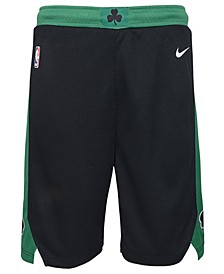 Boston Celtics Statement Swingman Shorts, Big Boys (8-20)