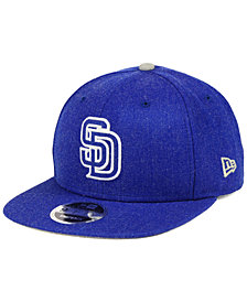 New Era San Diego Padres Heather Hype 9FIFTY Snapback Cap