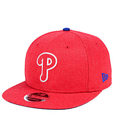 New Era Philadelphia Phillies Heather Hype 9FIFTY Snapback Cap