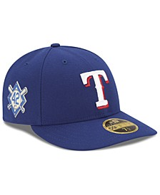 Texas Rangers Jackie Robinson Day Low Profile 59FIFTY FITTED Cap