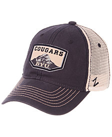 Zephyr Brigham Young Cougars Trademark Adjustable Cap