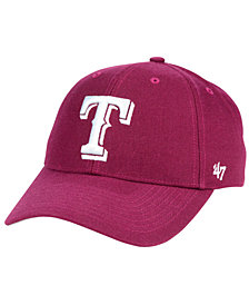 '47 Brand Texas Rangers Cardinal MVP Cap