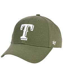 '47 Brand Texas Rangers Olive MVP Cap