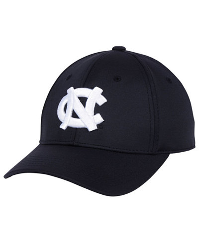 Top of the World North Carolina Tar Heels Phenom Flex Black White Cap