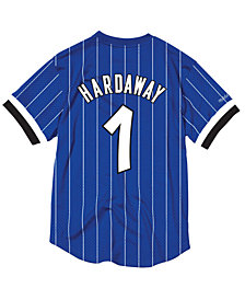 Mitchell & Ness Men's Penny Hardaway Orlando Magic Name and Number Mesh Crewneck Jersey