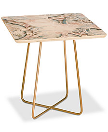 Deny Designs Iveta Abolina Honey Its Nap Time Square Side Table