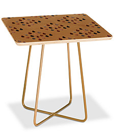 Deny Designs Lisa Argyropoulos Arrowheads Diamond Earth Square Side Table