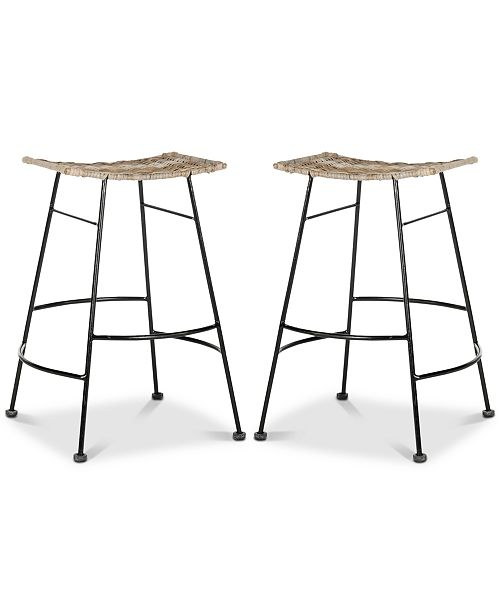 Peachy Ginnie Counter Stool Set Of 2 Quick Ship Pdpeps Interior Chair Design Pdpepsorg