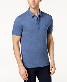 Lacoste Men's Short-Sleeve Ribbed Polo